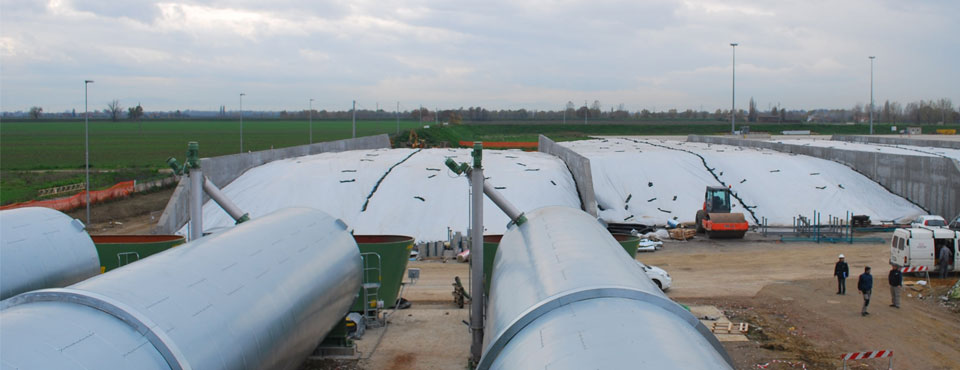 Impianto Biogas per la produzione di energia a Minerbio (BO)