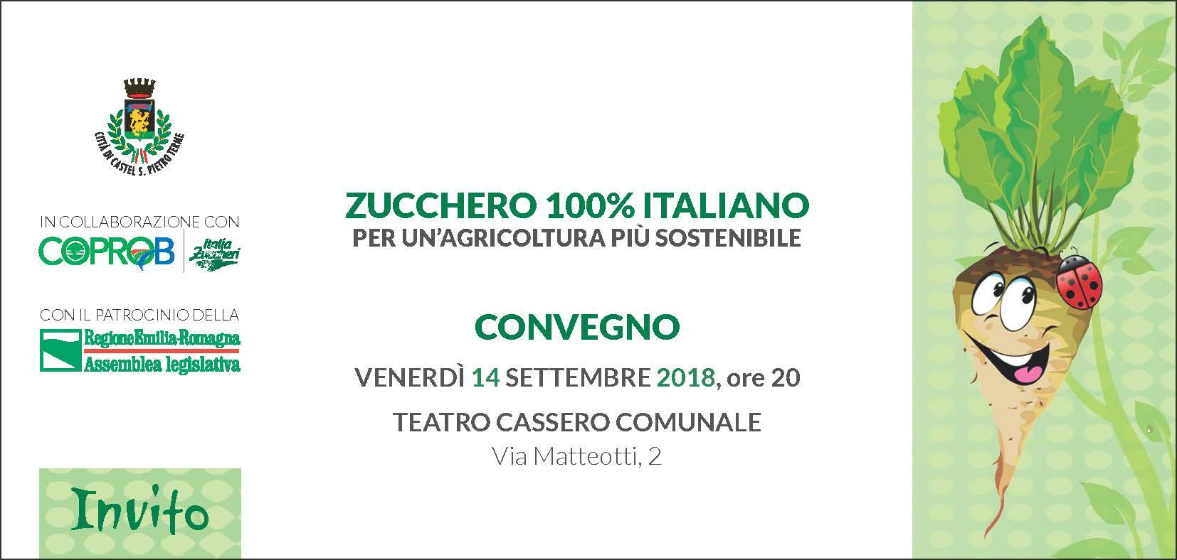Zucchero 100% italiano per un'agricoltura più sostenibile