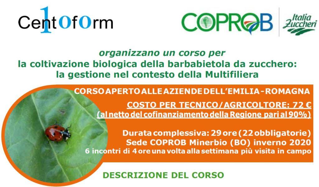 La coltivazione biologica della barbabietola da zucchero: la gestione nel contesto della Multifiliera